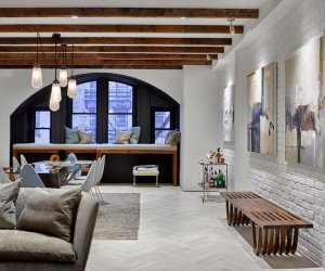 Tribeca Condo Comes Alive With Fresh Palette of Colors and Textures