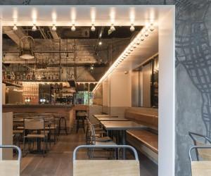 Tribeca Gastro Pub Shanghai by Linehouse