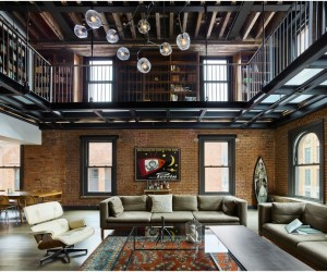 Tribeca Loft  1892 Building Transformed into a Cozy Home