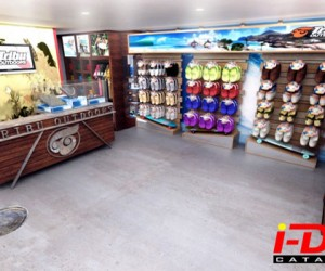 Tribu Outdoors Retail Store Design by I-Dea Catalysts