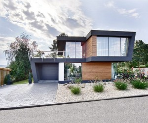 Tribute to Oblique Lines in Modern Home Architecture: House W  Read more: http:freshome.com20141011tribute-to-oblique-lines-in-modern-home-architecture-house-wixzz3G6JWTyq6