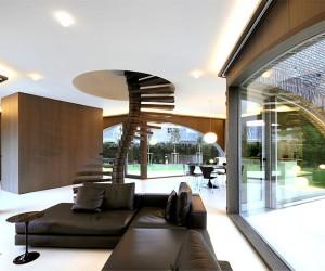 Tripartite Villa Moerkensheide by Dieter De Vos Architecten