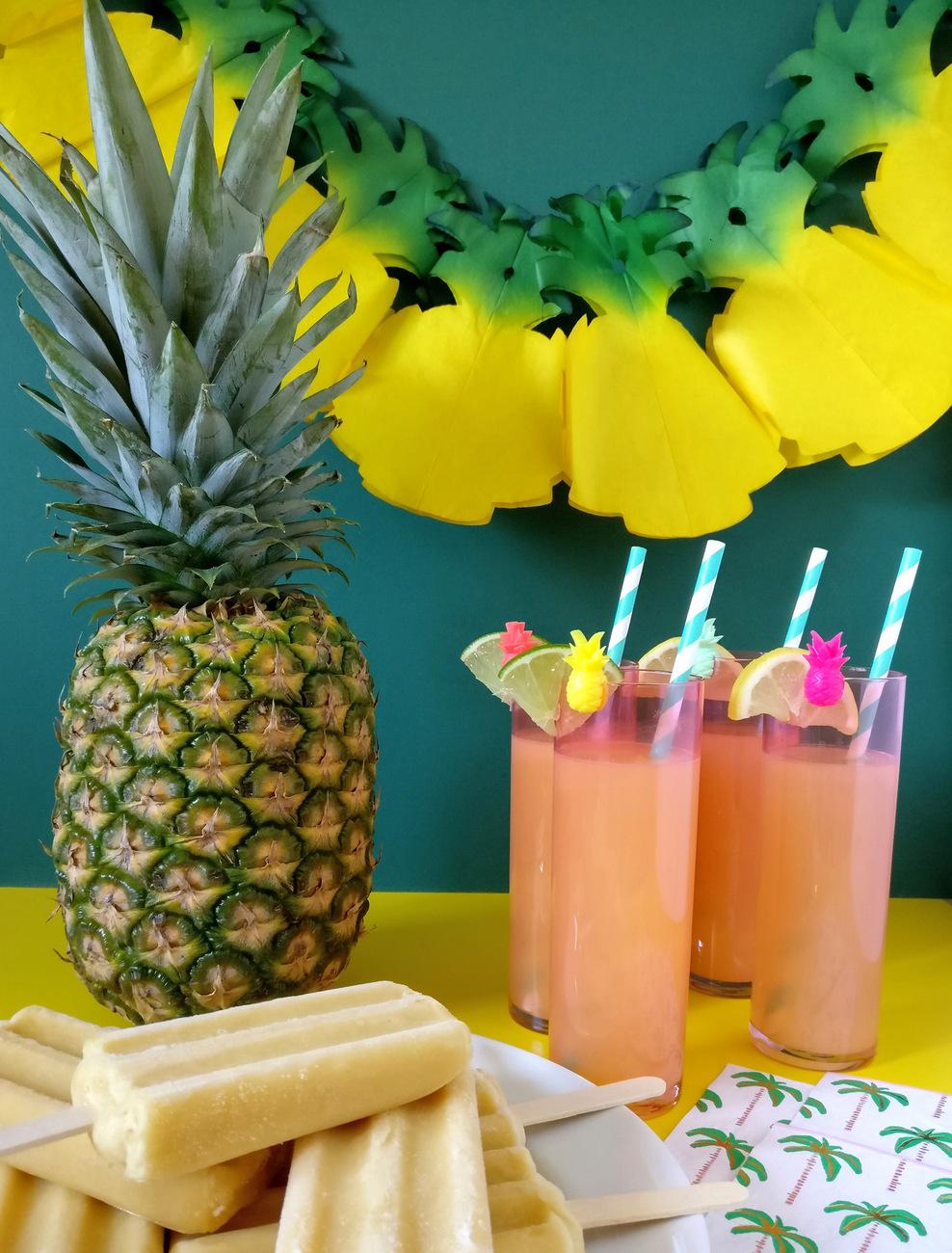 Tropical Party Decor Made Easy