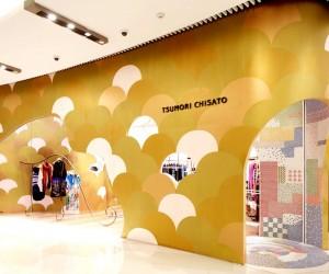 Tsumori Chisato Shanghai flagship store by Igarashi