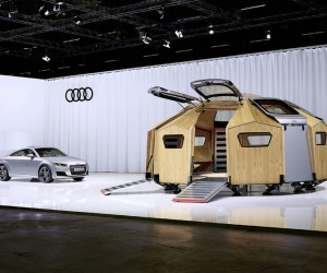 TT Pavilion by Konstantin Grcic for Audi