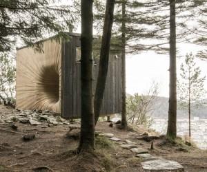 Tubakuba Mountain Hut by OPA FORM