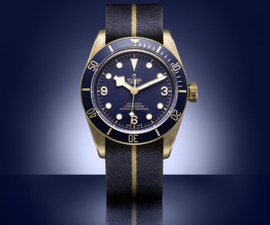 Tudor Heritage Black Bay Bronze Blue for Bucherer