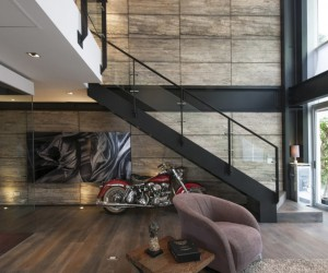 Two Level Duplex Designed by Hansi Arquitectura