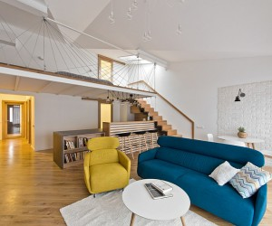 Two Room Apartment in Trakai by Rimartus Design Studio