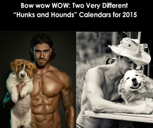 Two Very Different Hunks and Hounds Calendars for 2015