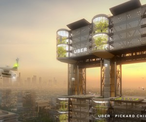 Uber Reveals Designs of Future UberAir Skyports
