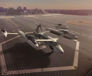 Uber Unveils New Flying Car Prototype