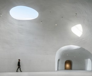 UCCA Dune Art Museum In Qinhuangdao, China