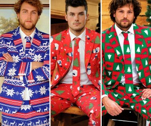 Ugly Christmas Suits Are Fabulously Festive