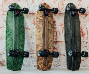 Uitto: The Biocomposite Skateboard