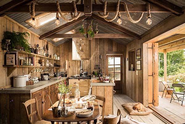 Ultimate Rough Luxe Hideaway Cabin In Cornwall Uk