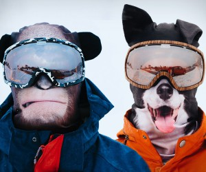 Ultra-Realistic Animal Ski Masks
