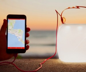 UltraLight Phone Charger: Solar Inflatable Lantern