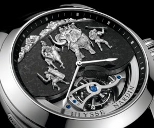 Ulysse Nardin Introduces Hannibal Minute Repeater Tourbillon Watch