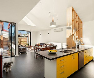 Unassuming Victorian House Makeover Combines Green with Clean Design