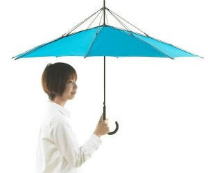 UnBRELLA: Upside Down Umbrella