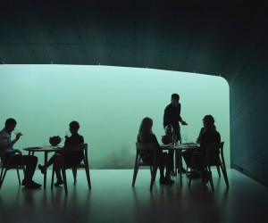 Under  Europes First Underwater Restaurant