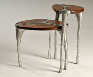 Undercut, handmade furniture by Uriel Schwartz