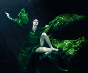 Underwater Fashion Photography by Jakob Dahlstrm
