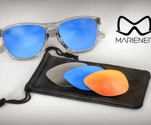 Unique and new Matte Reflective Lens Technology.