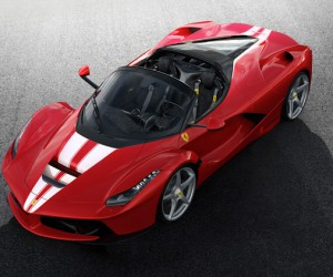 Unique LaFerrari Aperta Goes Up To Auction for Charity