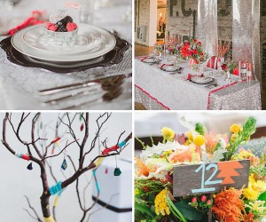 Unique Wedding Table Linens