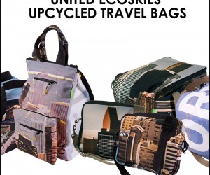 United Airline Banners Become Eco-Friendly Travel Bags