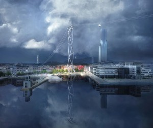 UNStudio Reveals Plans For Gothenburg Cable Car