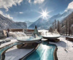 Unwinding the natural way: winter spa hotel, Austria