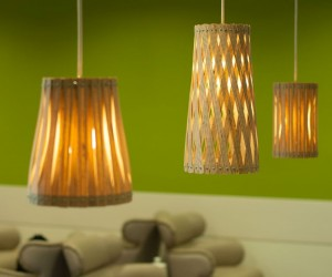 Upcycle  collection of handmade lamps