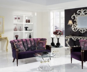 Upholstered lounge suites: art of beauty