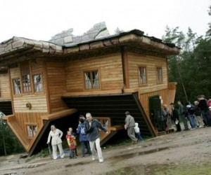 Upside Down Cabin
