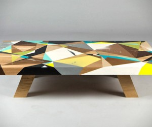 Urban Graffiti Table