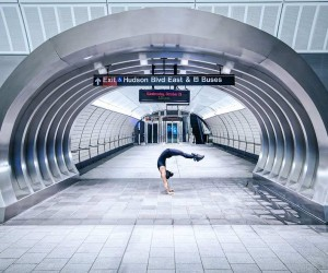 Urban Yoga Across The UK And NYC by Kristina Kashtanova
