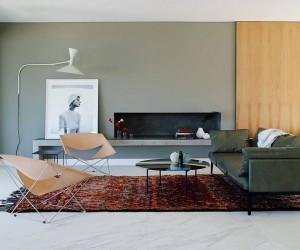 Urbane Minimal Design: Sculptural Decor Enlivens Posh Beachside Sydney Home