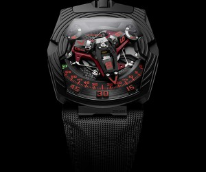 Urwerk Introduces UR-210 Black Platinum