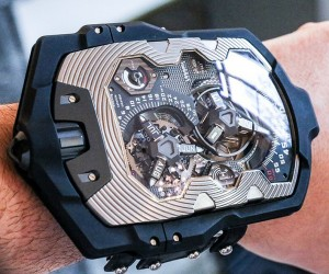 URWERK Unveils The UR-1001 Titan Watch
