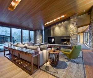 Contemporary Vail Valley Mountain Residence