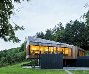 Valley Villa designed by arches
