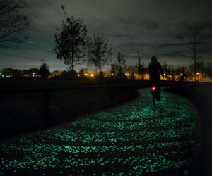 Van Gogh-Roosegaarde Solar Bicycle Path