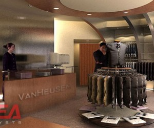 Van Heusen Retail Store Design by I-Dea Catalysts
