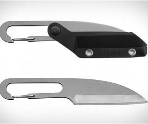 Vargo Wharn-Clip Titanium Knife