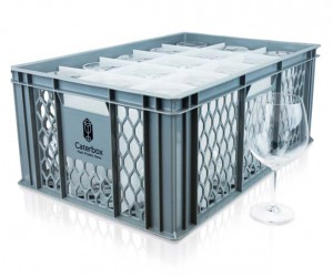 Ventilated Glass  Cup Crates