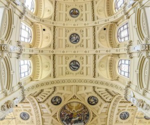 Vertical Panoramic Interiors Of New York Churches by Richard Silver