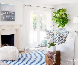 Vibrant, Bright and Filled with Coastal Charm: Summer Cabana that Sizzles